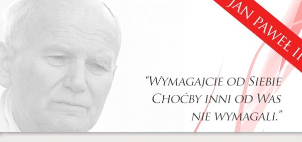 Patron Naszej Szkoły w Bridgeport - Jan Paweł II
