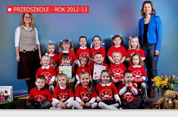 Szkoła Kultury i Języka Polskiego w Bridgeport - Przedszkole - rok 2012-13
