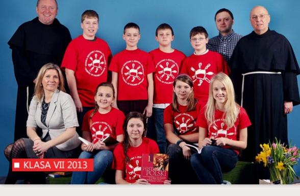 VII Klasa Szkoły w Bridgeport - Rok 2012-13