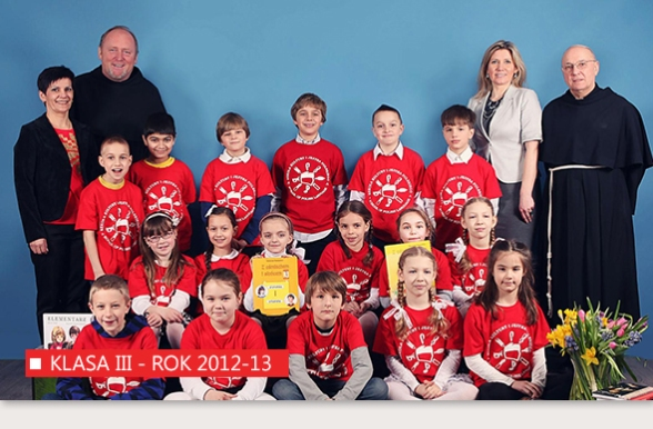 III Klasa Szkoły Kultury i Języka Polskiego w Bridgeport - Rok 2012-13