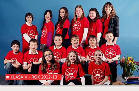 Szkoła Kultury i Języka Polskiego w Bridgeport - Klasa V - rok 2012-13